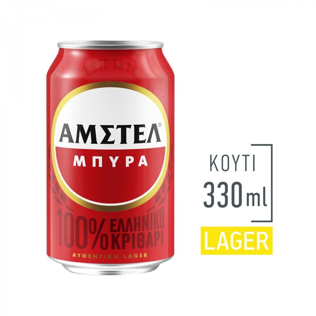 AMSTEL 4*(6*330 ML) (-1€)