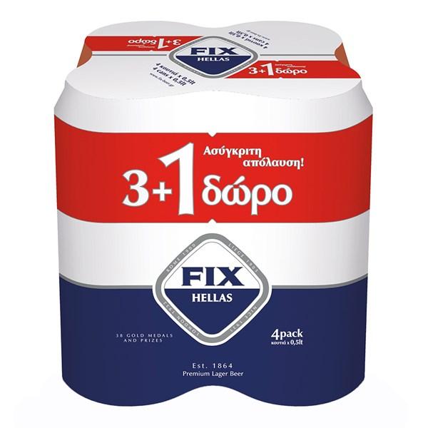 FIX 6*(4*500 ML) (3+1)