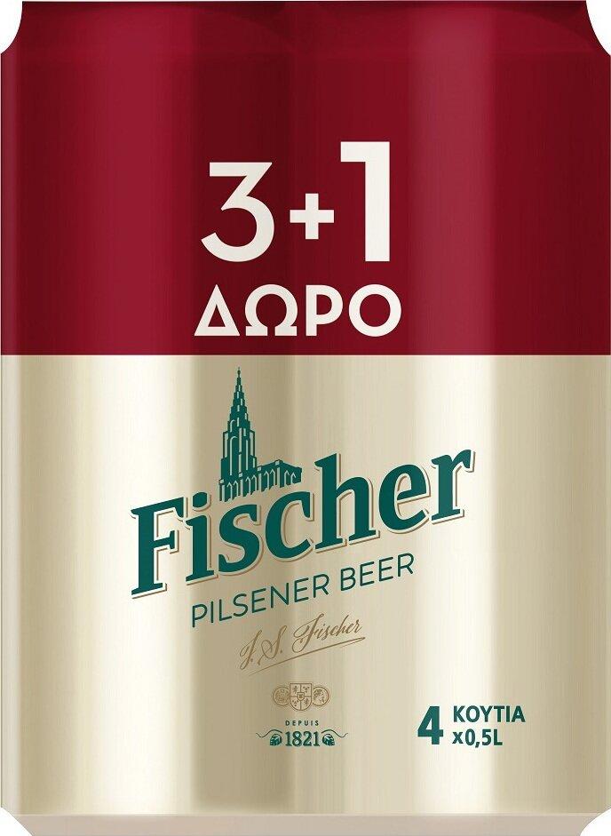 FISCHER 6*(4*500 ML ) (3+1)
