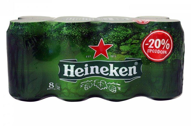 HEINEKEN 3*(8*330 ML) (-20%)