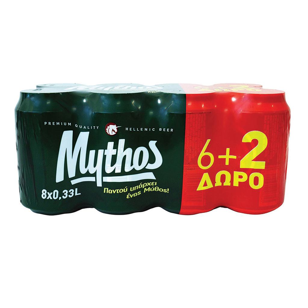 ΜΥΘΟΣ 3*(8*330 ML) (6+2)